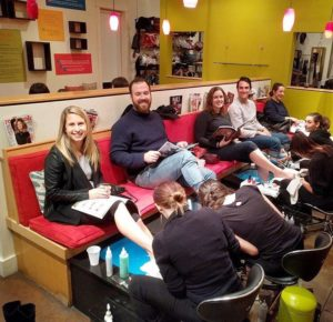 Customers at NAILED!
